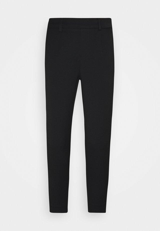 OBJLISA SLIM PANT - Pantalon classique - black