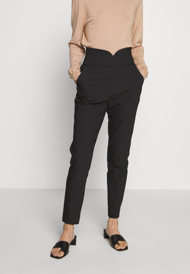 ESIGNO - Spodnie materiałowe - noir