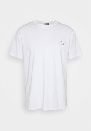 BAND TEE - Print T-shirt - white
