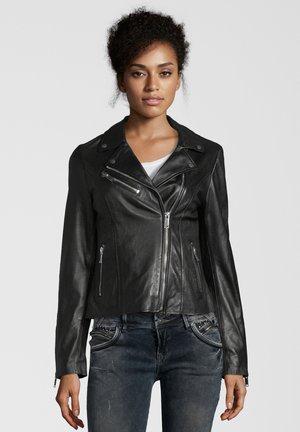 GHOST - Leren jas - black
