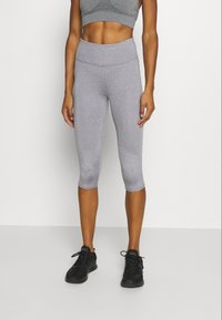 Cotton On Body - ACTIVE CORE CAPRI - 3/4 sports trousers - mid grey marle - 0