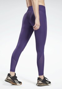 Reebok - LUX SPEEDWICK LEGGINGS - Leggings - purple - 2