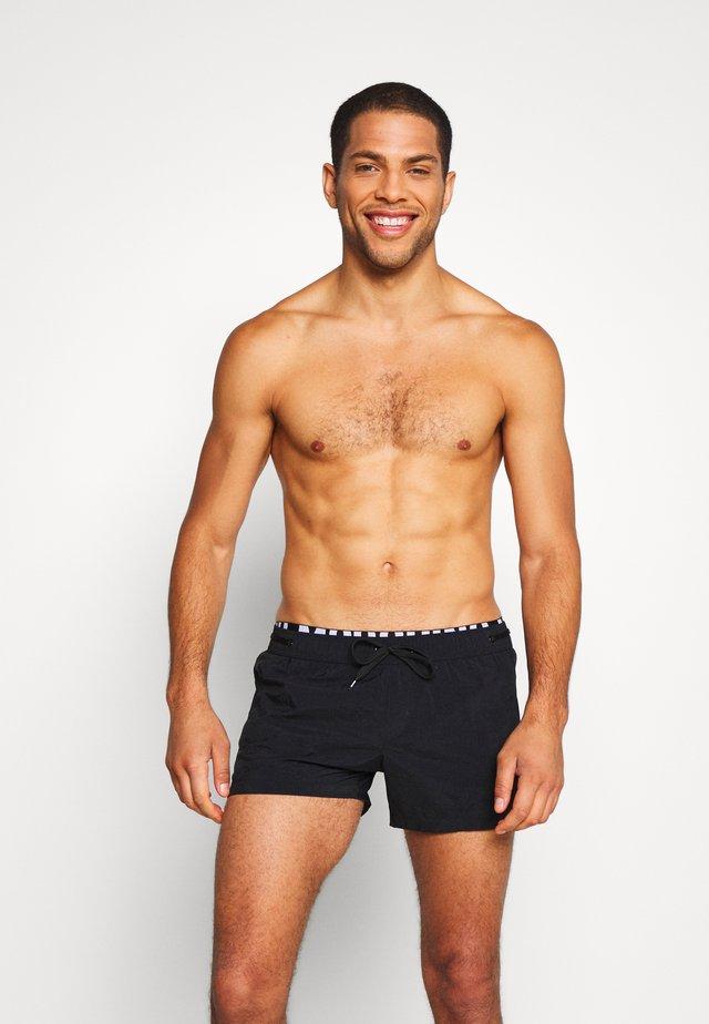 BOXER - Shorts da mare - nero