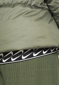Nike Sportswear - CLASSIC TAPE - Winter jacket - medium olive/black/white - 4