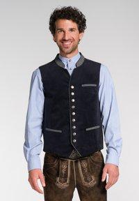 Spieth & Wensky - NAAB-WESTE H E - Waistcoat - dark blue - 0