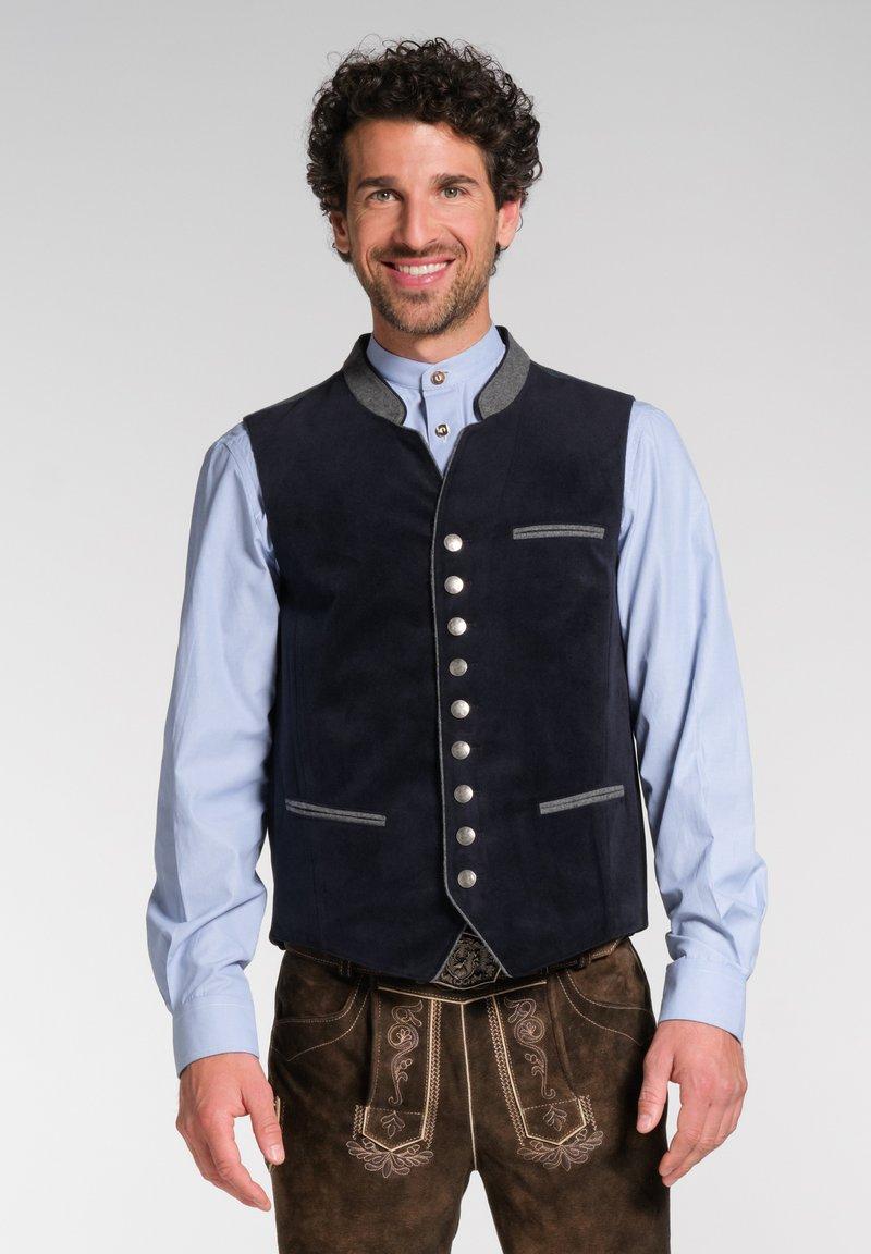 Spieth & Wensky - NAAB-WESTE H E - Waistcoat - dark blue