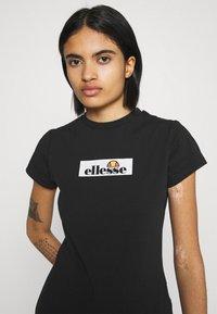 Ellesse - OMBRA - T-shirts print - black - 3