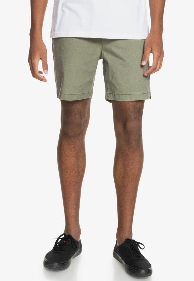 TAXER WS - Shorts - four leaf clover