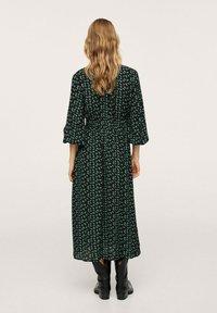 Mango - Maxi dress - groen - 2