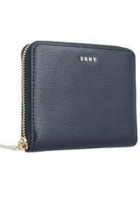 DKNY - BRYANT ZIP AROUND LOGO - Monedero - black - 2