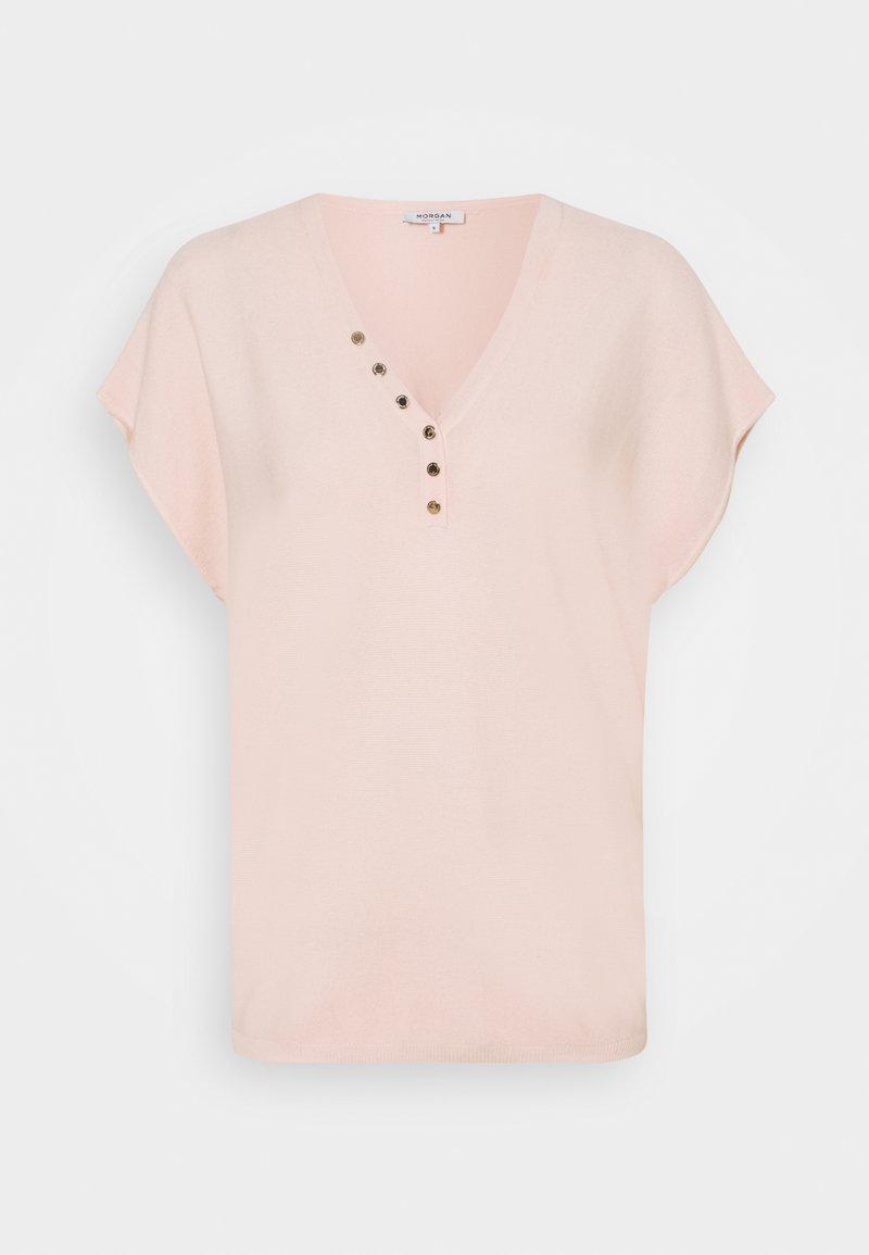 Morgan - Basic T-shirt - nude
