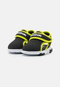 Reebok - WAVE GLIDER III UNISEX - Walking sandals - black/yellow flare/white - 1