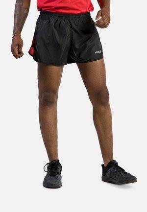 Short de sport - black red