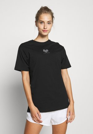HERON BOYFRIEND TEE - T-shirt basic - black