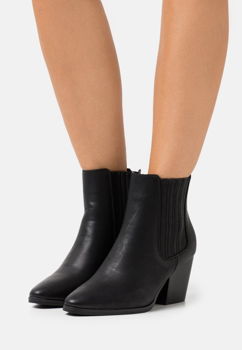 Rubi Shoes by Cotton On Wide Fit - WIDE FIT JOLENE GUSSET BOOT - Stivaletti - black