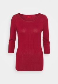 HUGO - DICARE - Long sleeved top - bordeaux - 0