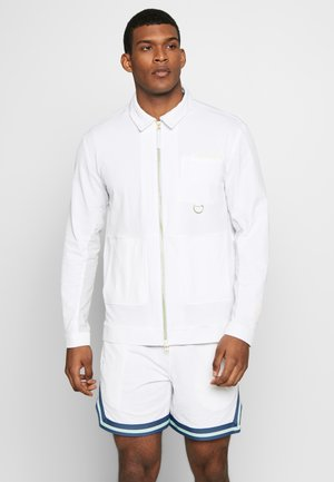 HOOPS SEERSUCKER - Training jacket - puma white