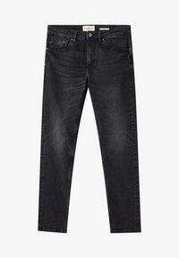 PULL&BEAR - Jeans slim fit - black denim - 6