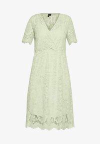 Vero Moda - VMSOFIE CALF  DRESS - Cocktailklänning - laurel green - 4
