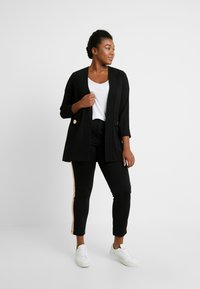 Evans - BUTTON POCKET  - Blazer - black - 1