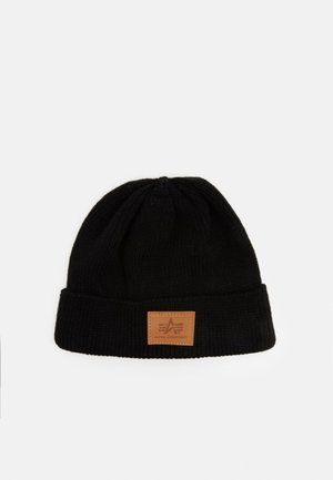 DOCKER HAT UNISEX - Mössa - black