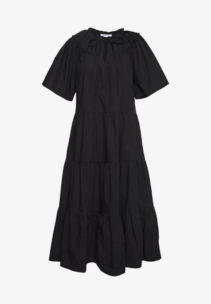 SMOCK MIDI - Day dress - black