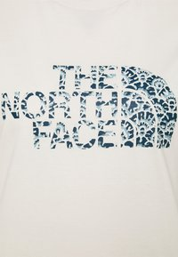 The North Face - EASY TEE - Print T-shirt - off-white - 2