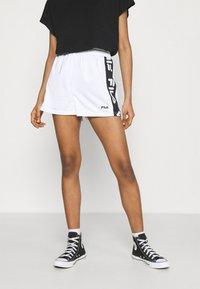 Fila - FIONA HIGH WAIST - Shorts - bright white - 0