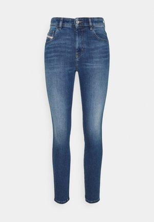 D-SLANDY-HIGH - Jeans Skinny Fit - denim blue