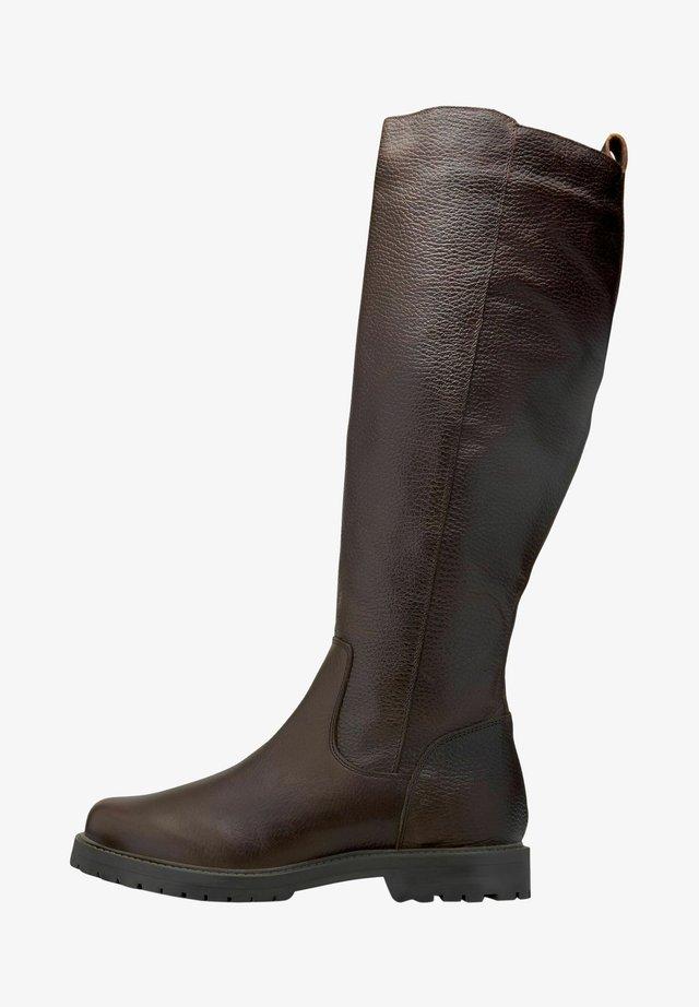 Høje støvler/ Støvler - dunkelbraun