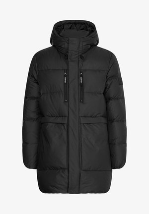 RECYCLED QUILTED  - Down coat - ck black