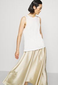 ARKET - MAXI SKIRT - A-lijn rok - beige dusty light - 4