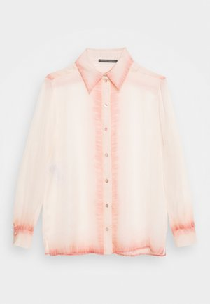 BLOUSE - Button-down blouse - pink