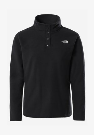 W TKA GLACIER SNAP-NECK PULLOVER - Fleecepaita - tnf black