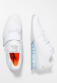 Nike Performance - ROMALEOS 3.5 - Sports shoes - white/metallic platinum - 1