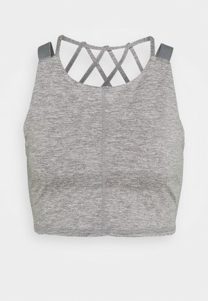 MANTRA CROP - Top - grey