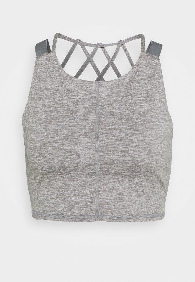 MANTRA CROP - Top - grey