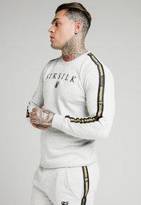 SIKSILK - PRESTIGE CREW - Sweatshirts - grey marl - 4
