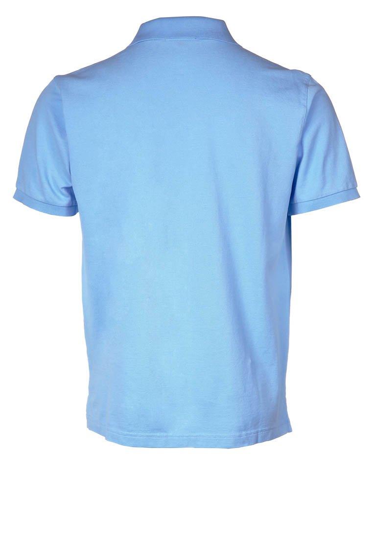Gant The Original Rugger - Poloskjorter Capri Blue/kongeblå