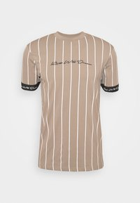Kings Will Dream - CLIFTON - T-shirt print - light brown/white - 3
