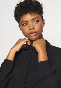 JDY - JDYMYNTHE - Button-down blouse - black - 3