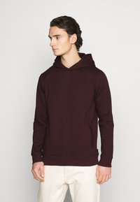 Burton Menswear London - HOOD 2 PACK - Hoodie - bordeaux - 1