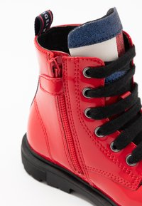 Tommy Hilfiger - Lace-up ankle boots - red - 5