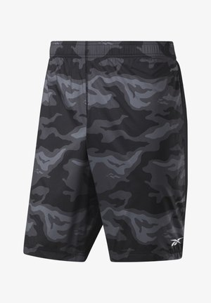WORKOUT READY GRAPHIC SHORTS - Krótkie spodenki sportowe - black