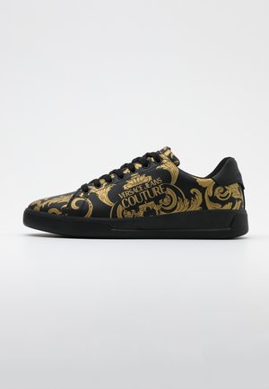 Sneakers laag - black/gold