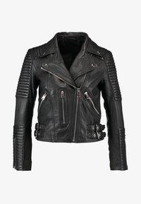 AllSaints - ESTELLA BIKER - Leather jacket - black - 6