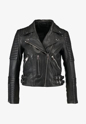 ESTELLA BIKER - Leather jacket - black