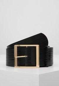 Gina Tricot - SUS BELT - Tailleriem - black/gold - 0