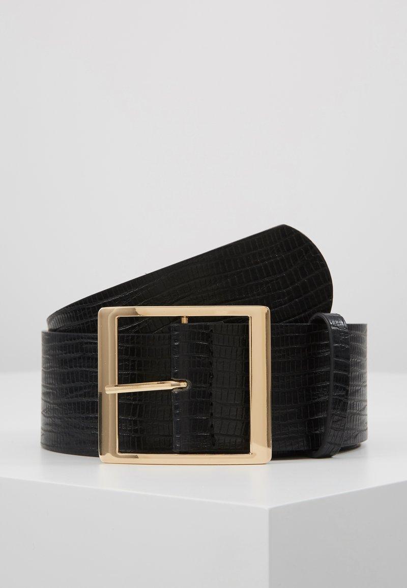 Gina Tricot - SUS BELT - Tailleriem - black/gold
