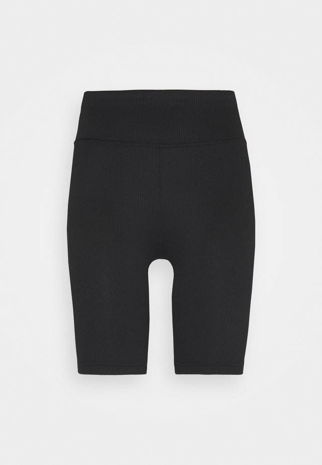 YARA BIKER PANTS - Pyjamabroek - black